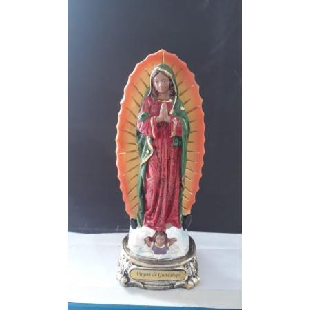 IDC684 - N. Sra. Guadalupe 20cm Resina Gold