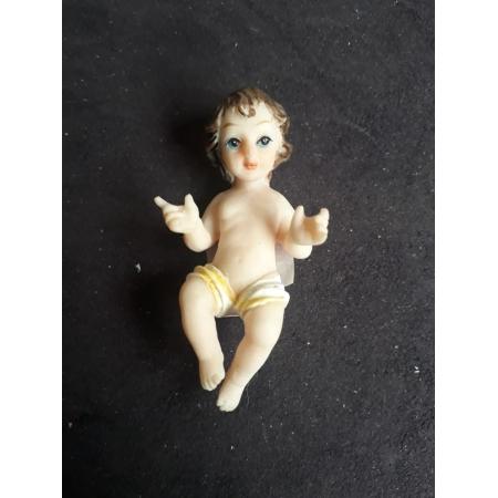 IDN02 - Menino Jesus 07cm Resina