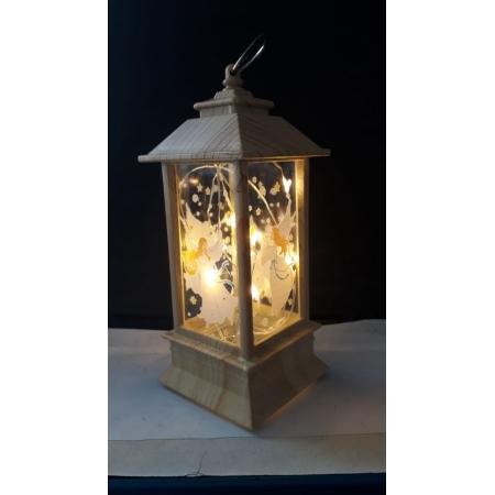 IN62 - Luminaria Anjo 13cm Marfim c/ Luz