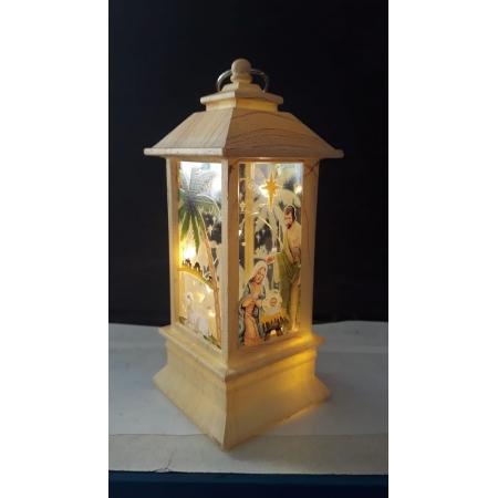 IN63 - Presépio Luminária 13cm Marfim c/ Luz