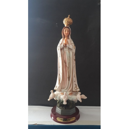 IP66 - Nossa Senhora Fatima 30cm Resina