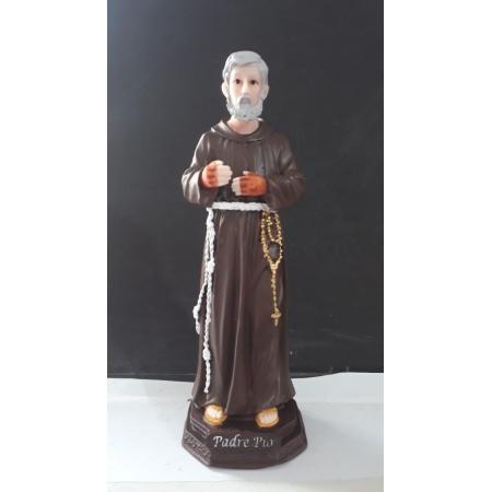 IT1084 - São Padre Pio 20cm Resina