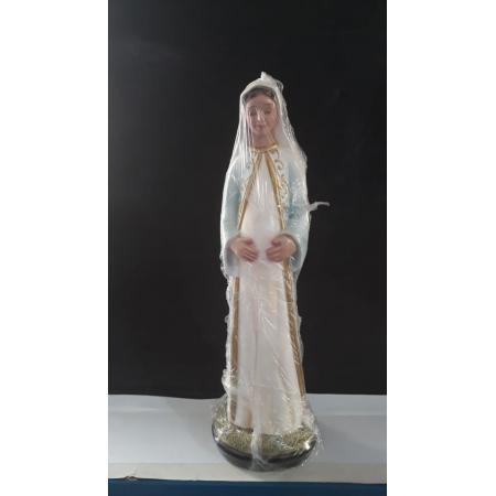 IT296 - N. Sra. Gravida 30cm Gesso