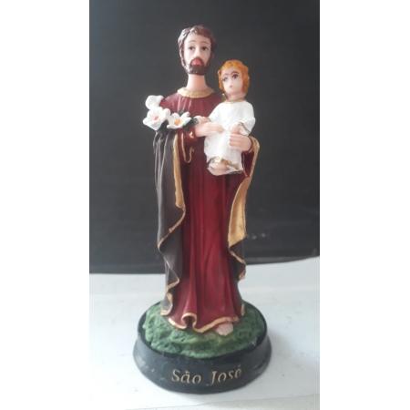 IV113 - São José 15cm Resina