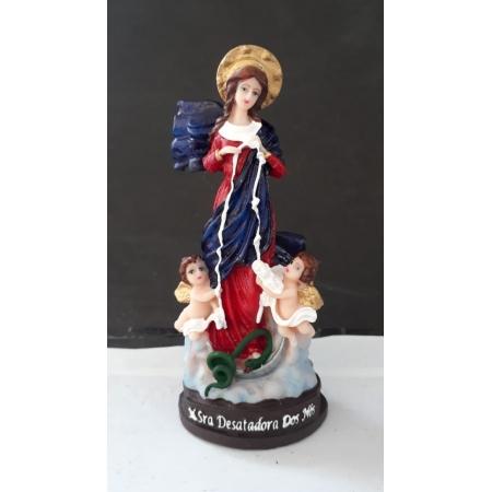 IV212 - Nossa Senhora Desatadora de Nós 12cm Resina