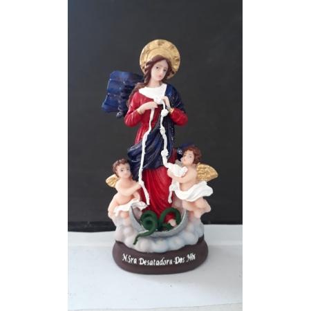 IV213 - Nossa Senhora Desatadora de Nós 15cm Resina