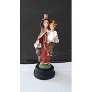 IV230 - Nossa Senhora Carmo 08cm Resina