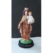 IV231 - Nossa Senhora Carmo 12cm Resina