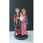 IV262 - Sagrada Familia 11cm Resina