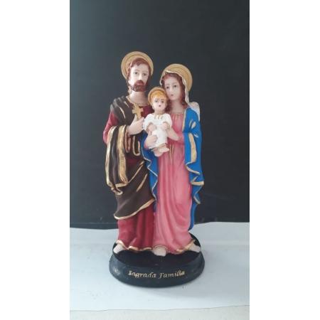 IV263 - Sagrada Familia 15cm Resina