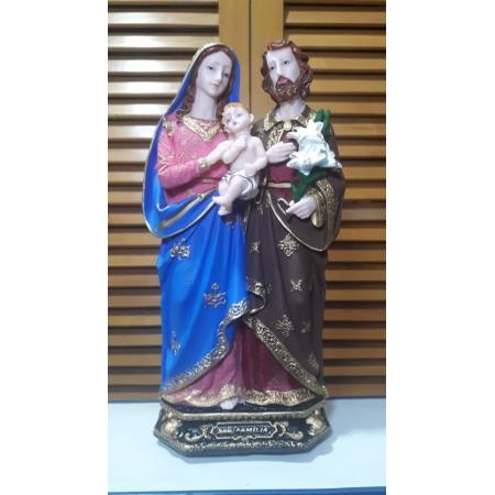 IV266 - Sagrada Familia 30cm Resina