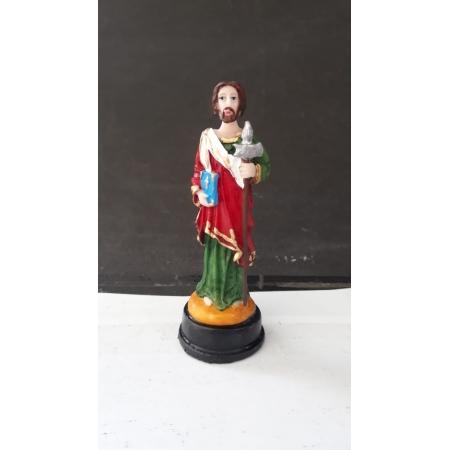 IV460 - São Judas Tadeu 09cm Resina