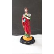 IV462 - São Judas Tadeu 12cm Resina