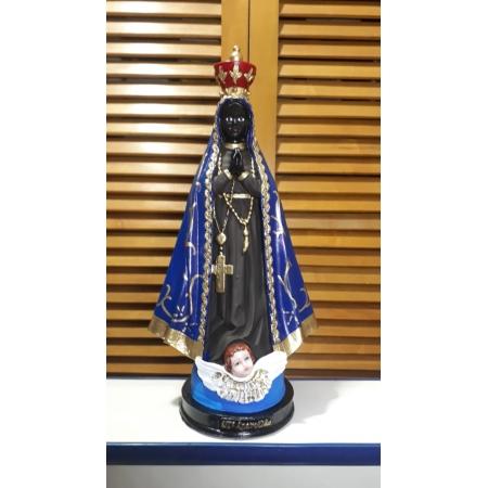IV486 - Nossa Senhora Aparecida 30cm Resina