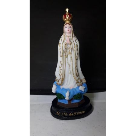 IV62 - Nossa Senhora Fatima 12cm Resina