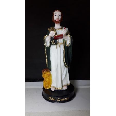 IV703 - São Lucas Evangelista 15cm Resina