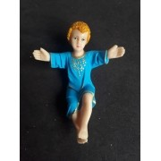 IVN03 - Menino Jesus na Manjedoura 15cm
