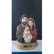 P108 - Sagrada Familia Busto 20cm Resina