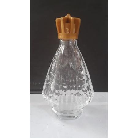 P60 - Vidro p/ Agua Benta Corpo Nossa Senhora Aparecida 09cm 30ml Transparente