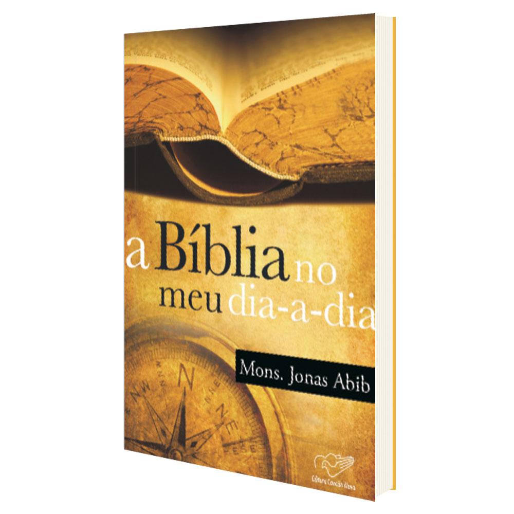 A Biblia no Meu Dia a Dia - Mons. Jonas Abib  - VindVedShop - Distribuidora Catolica