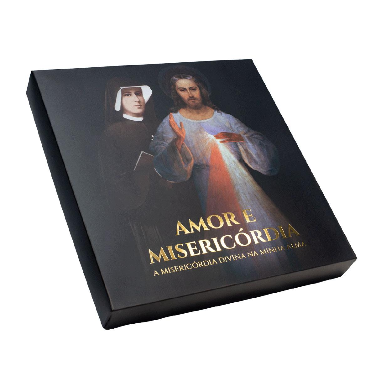Amor e Misericordia - A Misericordia Divina na Minha Alma - BOX  - VindVedShop - Distribuidora Catolica