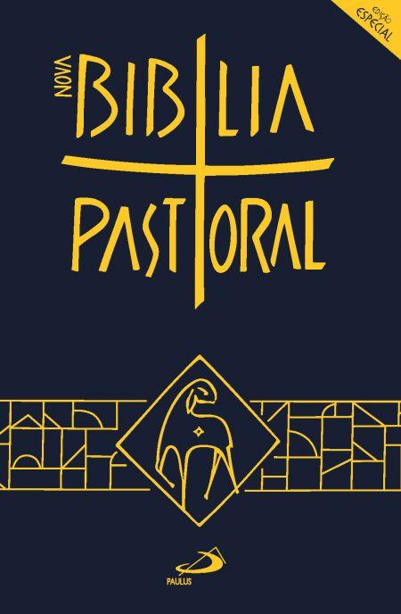 Biblia Sagrada Ed. Especial Pastoral Media Capa Plastica  - VindVedShop - Distribuidora Catolica