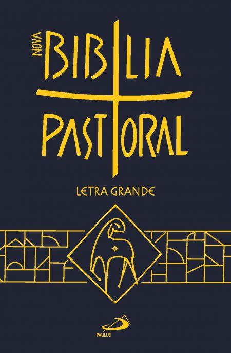 Biblia Sagrada Ed. Especial Pastoral Media Capa Plastica Letra Grande  - VindVedShop - Distribuidora Catolica