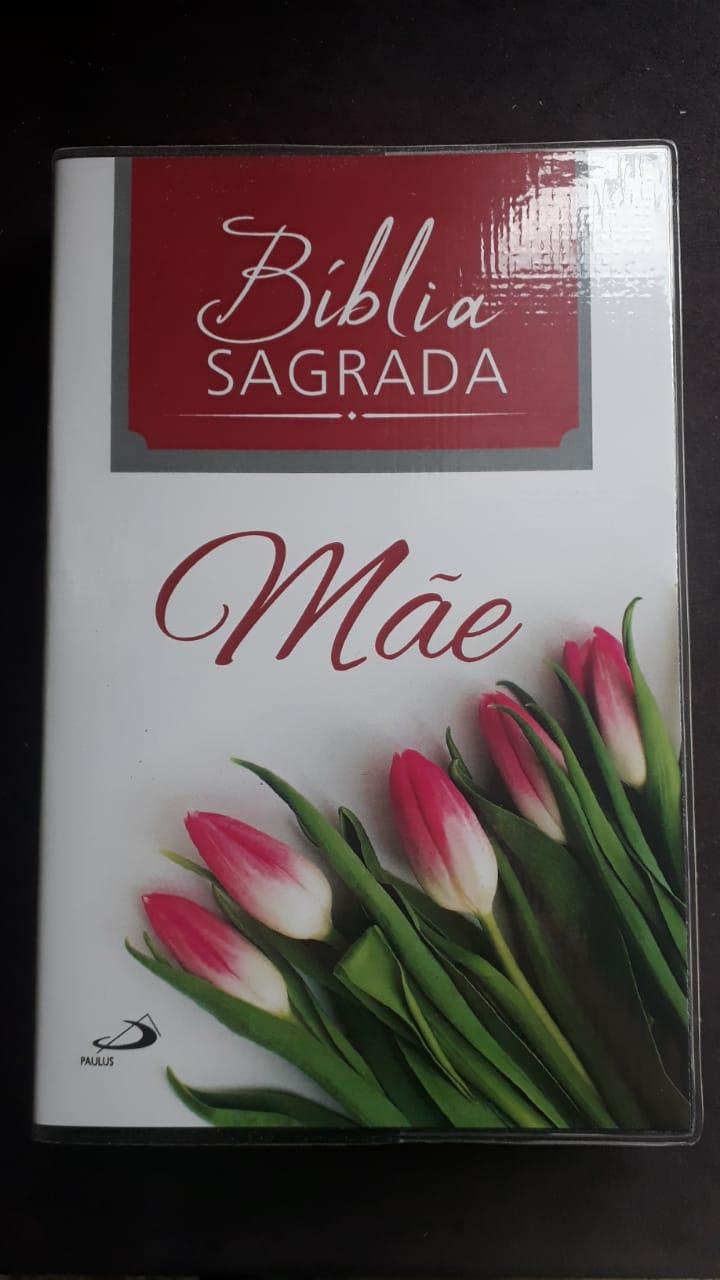 Bíblia Sagrada Nova Ed. Pastoral Media Capa Plastica Mãe  - VindVedShop - Distribuidora Catolica