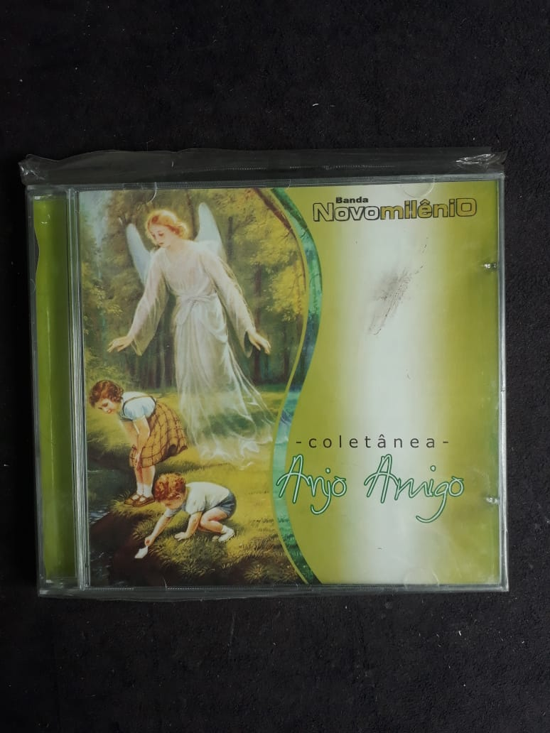 CD - Coletanea Anjo Amigo - Banda Novo Milenio  - VindVedShop - Distribuidora Catolica