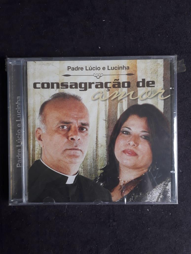 CD - Consagração de Amor - Pe. Lucio e Lucinha  - VindVedShop - Distribuidora Catolica