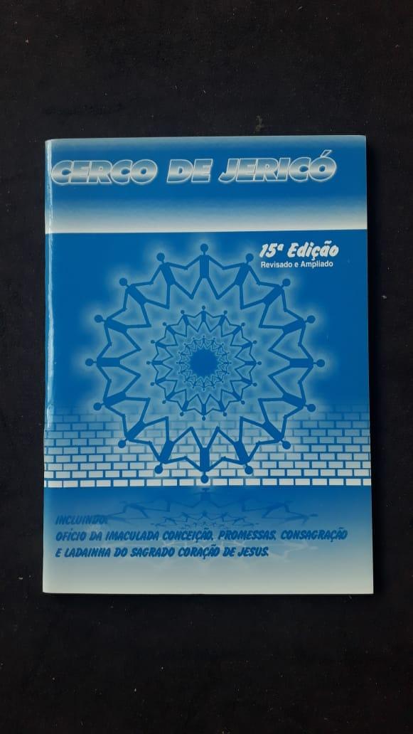 Cerco de Jericó - capa azul  - VindVedShop - Distribuidora Catolica