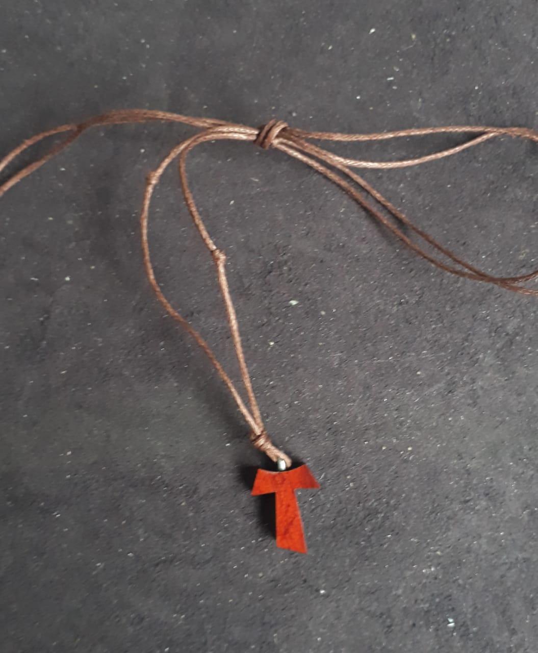 CR28 - Tau Madeira 16mm Cordão Encerado  - VindVedShop - Distribuidora Catolica