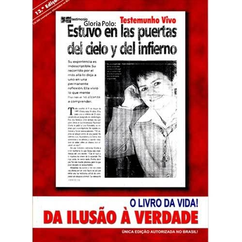 Da Ilusão a Verdade - O Livro da Vida - Gloria a Polo  - VindVedShop - Distribuidora Catolica