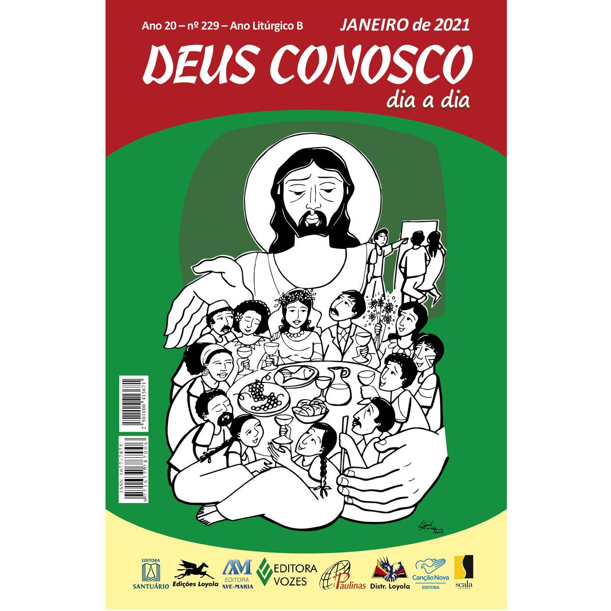Deus Conosco - Janeiro 2021  - VindVedShop - Distribuidora Catolica