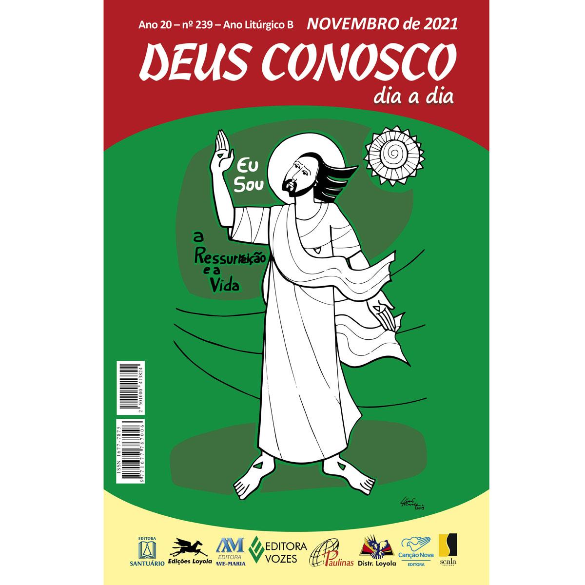 Deus Conosco - Novembro 2021  - VindVedShop - Distribuidora Catolica