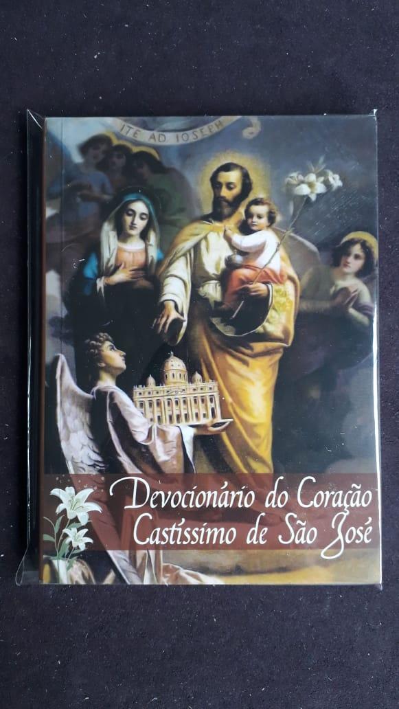 Devocionario do Coração Castissimo de São José  - VindVedShop - Distribuidora Catolica