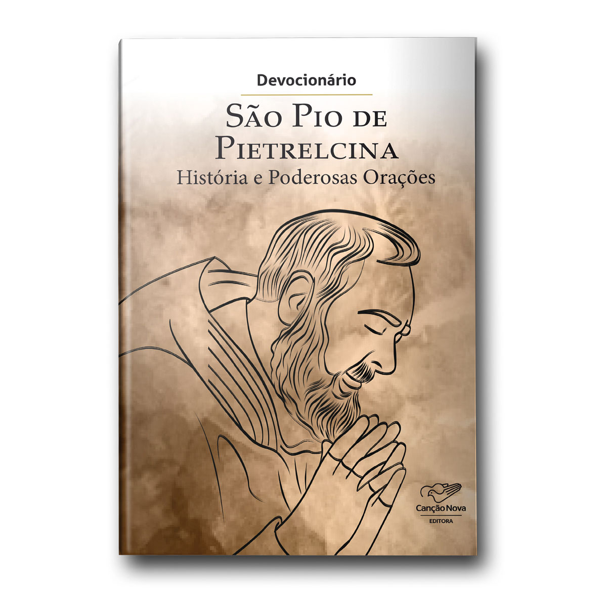 Devocionario São Pio de Pietrelcina - Historias e Poderosas Orações  - VindVedShop - Distribuidora Catolica