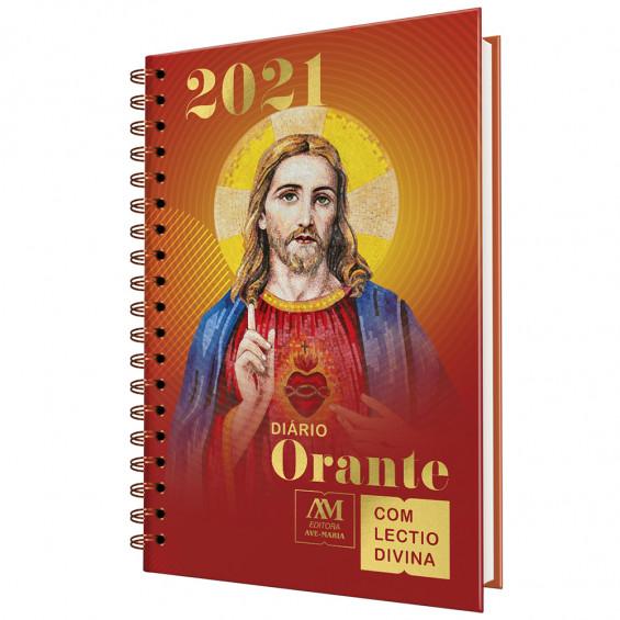 Diário Orante 2021 c/ Lectio Divina  - VindVedShop - Distribuidora Catolica