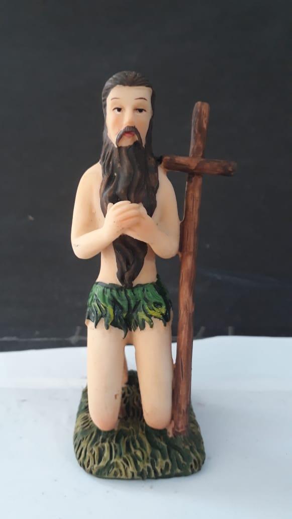 ID621 - Santo Onofre 11cm Resina  - VindVedShop - Distribuidora Catolica