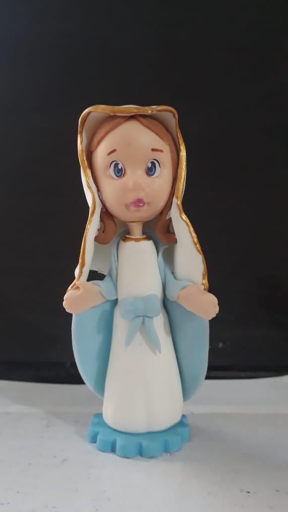 IG11 - Nossa Senhora das Graças 80mm Biscuit  - VindVedShop - Distribuidora Catolica