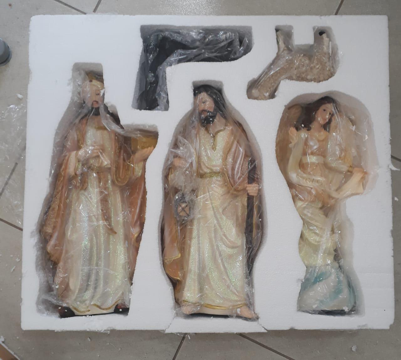 IN04 - Presepio 11pçs 51cm Resina  - VindVedShop - Distribuidora Catolica