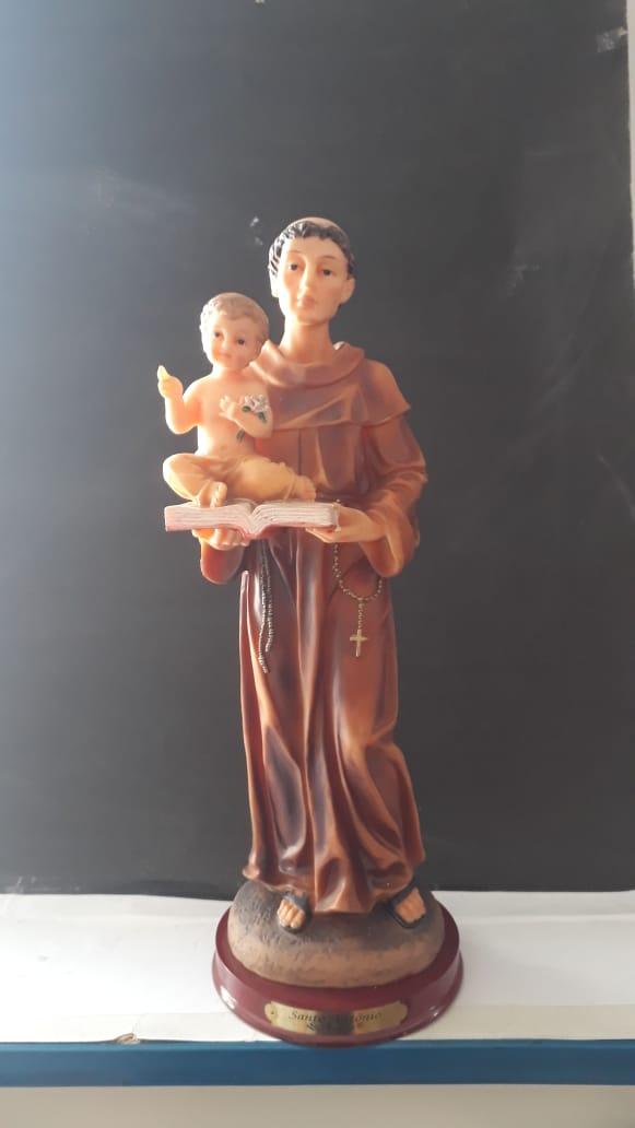 IP46 - Santo Antonio 40cm Resina  - VindVedShop - Distribuidora Catolica