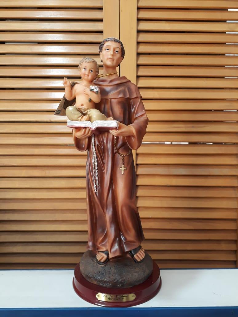 IP48 - Par. Santo Antonio 40cm Resina  - VindVedShop - Distribuidora Catolica