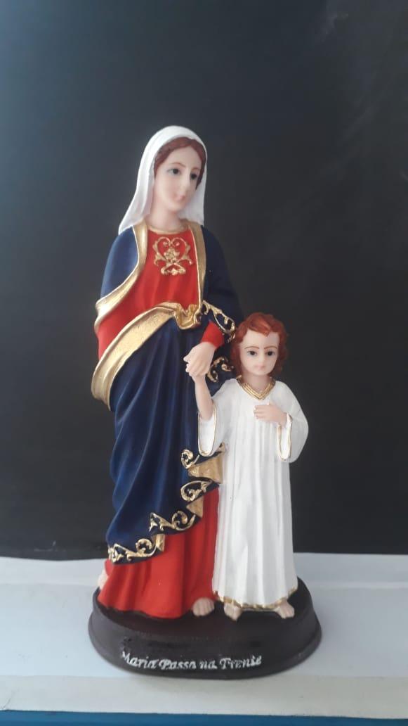 IT1064 - Maria Passa na Frente 20cm Resina  - VindVedShop - Distribuidora Catolica