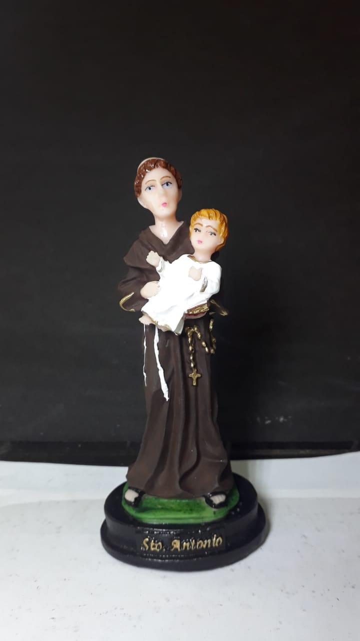 IV42 - Santo Antonio 12cm Resina  - VindVedShop - Distribuidora Catolica