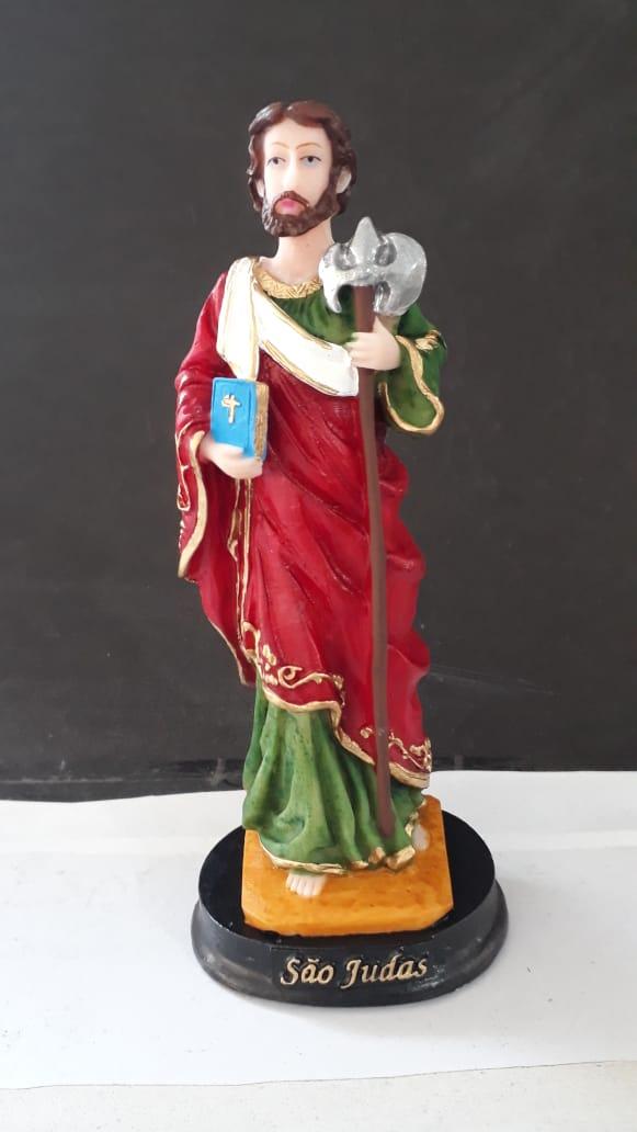 IV463 - São Judas Tadeu 15cm Resina  - VindVedShop - Distribuidora Catolica