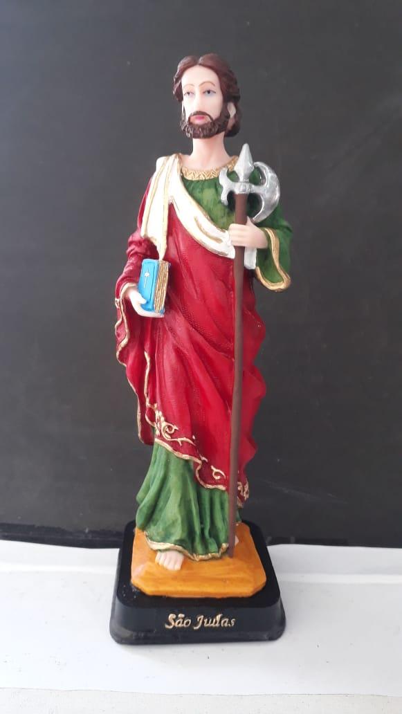 IV464 - São Judas Tadeu 20cm Resina  - VindVedShop - Distribuidora Catolica