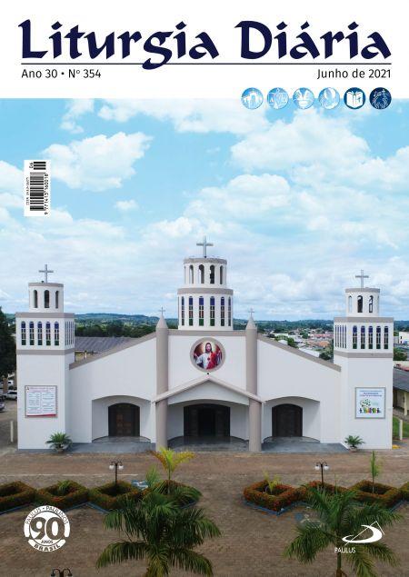 Liturgia Diaria - Junho 2021  - VindVedShop - Distribuidora Catolica