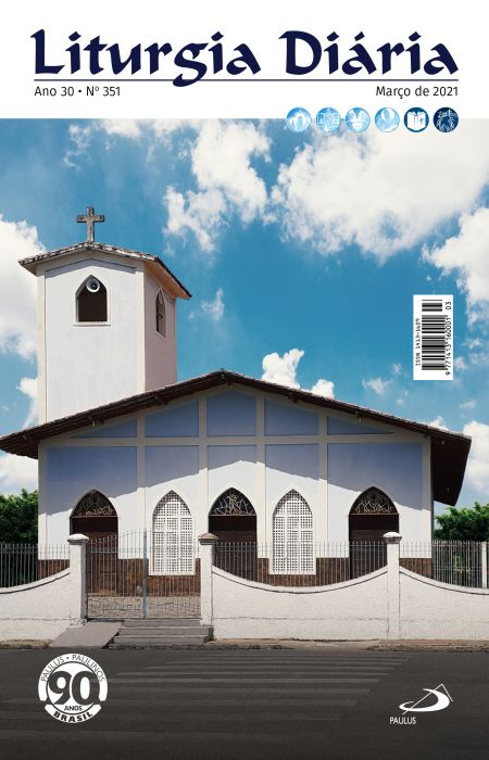 Liturgia Diaria - Março 2021  - VindVedShop - Distribuidora Catolica