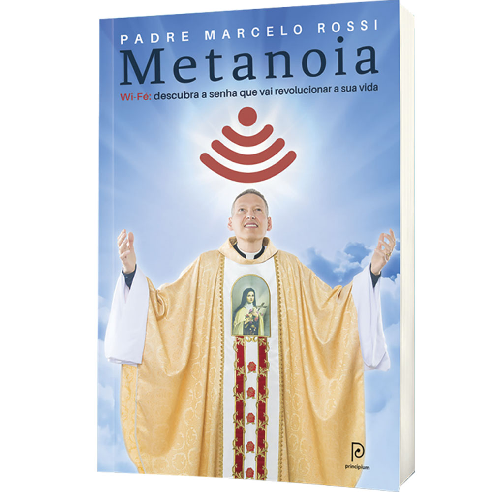 Metanoia - Padre Marcelo Rossi  - VindVedShop - Distribuidora Catolica